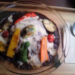 30550969 - 彩り野菜の焼カレー ランチセット1100円