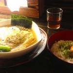 30551811 - 近江塩鶏麺+玉子ごはん