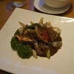 星期菜 - 牛肉の黒胡椒炒め