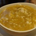 星期菜 - フカヒレと蟹のスープ
