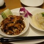 星期菜 - 豚肉と鶏肉の前菜