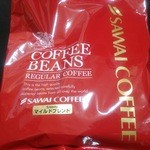SAWAI COFFEE&TEA - 500gの大袋。