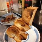 西口やきとん - フランスパン串