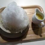 オン・サンデイズ - かき氷:夏みかん+パイン 750円のデフォルト