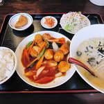 龍翔 - 料理写真:週替ランチ(肉団子)2014.09.09