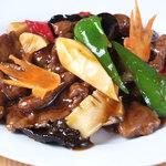 孟の台所 - 料理写真:カルビオイスター炒め780円