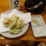 春夏秋冬 - 白子天ぷら864円