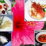 3056883 - ある日の夕食・地元産食材がメインです