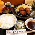 30560147 - 黒豚ヘレとんかつ定食