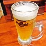 Surutan - 生ビール 480円