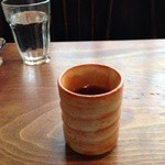 珈琲亭 蚤の市 - 食後のお茶