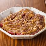 焼肉 まるえん - 味噌漬けカルビ