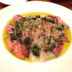イタリアン酒場 TAKEYA - 鮮魚のカルパッチョ