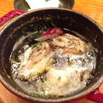 イタリアン酒場 TAKEYA - 牡蠣のアヒージョ