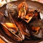 さっぽろすし均 - ムール貝の酒蒸し