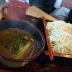 長寿庵 - 鴨せいろ(饂麺)