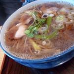 長寿庵 - 鴨南蛮(饂麺)