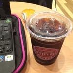シアトルズベストコーヒー - 食後のアイス珈琲、昼食代と同じだったりして。( ̄▽ ̄)