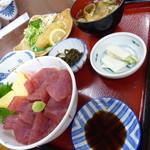 みなと食堂 - 鉄火丼(1300円)