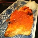 和味 大場 - 厚切り鮭塩焼きいくらのせ❤