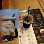 スターバックス・コーヒー - スターバックス・コーヒー 京都錦小路店のアイスコーヒー(14.07)