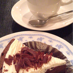 カフェ ドルチェ - ガトーショコラとホットコーヒーのケーキセット