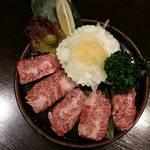 皇楽苑 - 上ハラミの塩焼き 一番人気のお肉です!