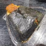 海鮮工房 鰻ま屋 - 鰻のおにぎり 200円