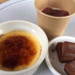 Kobe ozo Cafe 901 - レアチーズケーキ、クレームブリュレ、生チョコ