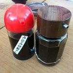 清水港 みなみ  - 2種類の醤油