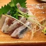 すし三崎丸 - イワシの刺身