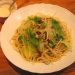 3058725 - 「野菜とロースハムのスパゲティ」+「大盛」200円