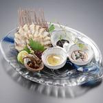 三河雑魚肴房 やま六 - 料理写真:めずらしいうなぎのお刺身。焼霜造り一度お召し上がりください。