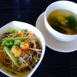 うまいもの工房 ザ・テラス - サラダ&スープ