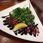 エアポートキッチン - 牛肉のタリアータ
