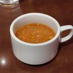 地中海ビストロ Sun&Moon - スープでございます