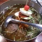 千里香 - ・延辺冷麺 1200円