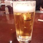 30581899 - サッポロ生ビール(中ジョッキ)298円