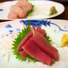 Izakayayuushin - 料理写真:さんま・ひらめ刺身
