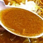 さっぽろ純連 - 生姜が効いて濃厚でありながら後味はさっぱり。 特製オリジナルブレンドの味噌が芳醇な香りで口中で広がる。