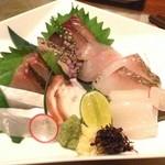 男前料理と五島列島福江港直送の魚 日本ばし 無花果 -