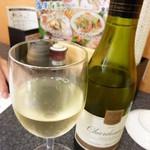 すしざんまい - 白ワイン