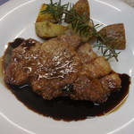 チムニーギオット - 豚肉のオーブン焼きバルサミコソース