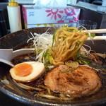 30589304 - 醤油ラーメン(麺)