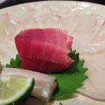 舞桜 - 平目のお刺身と大間の本マグロ