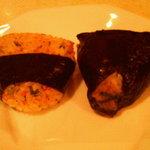 3059365 - なす味噌(右)と三つ葉鮭