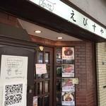 えびすや - 元喫茶店のため、外観もそのまんま(2014.9.11)