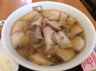 喜多方ラーメン 坂内 池袋サンシャイン店 - チャーシュー麺