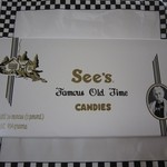 See's Candies - 2012年のミルク・チョコレート(詰合せ)$18.20