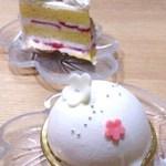 パティスリー パリシ - レアチーズケーキ